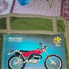 Coches y Motocicletas: MANUAL BULTACO SHERPA T. 74/125. Lote 126050087