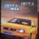 Coches y Motocicletas: CATÁLOGO SEAT IBIZA. Lote 164195374