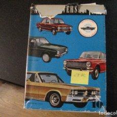 Coches y Motocicletas: LIBRO DE COCHES AUTO-UNIVERSUM, 1967, SEAT 600 Y TODAS LAS MARCAS.. Lote 102677835
