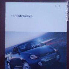 Voitures et Motocyclettes: CATÁLOGO FORD STREETKA STREET KA. Lote 126239982