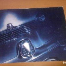 Coches y Motocicletas: CATALOGO ORIGINAL AÑO 1946 COCHE HUDSON AUTOMÓVIL 20 PÁGINAS A TODO COLOR. Lote 126328171