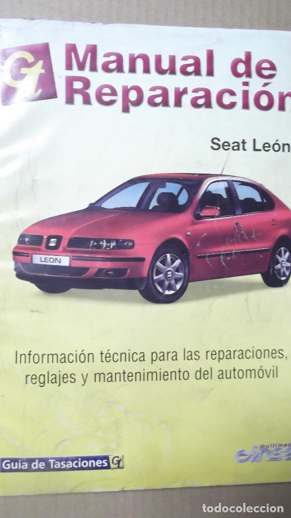 manual reparacion seat leon guia de tasaciones comprar cat logos rh todocoleccion net manual de taller seat leon 2 manual de seat leon 2002