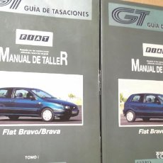 Coches y Motocicletas: MANUAL TALLER FIAT BRAVO BRAVA ENERO 1998 2 TOMOS GUIA DE TASACIONES . Lote 126378427