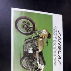 Coches y Motocicletas - Folleto moto motos sanglas - 126427067