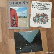 Coches y Motocicletas: CITROEN CATALOGO DYANE 6 2CV 6, LNA 1986.LINA BERLINE, CHARLESTON. Lote 126528015
