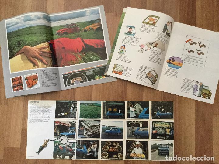 Coches y Motocicletas: CITROEN CATALOGO DYANE 6 2CV 6, LNA 1986.LINA BERLINE, CHARLESTON - Foto 3 - 126528015