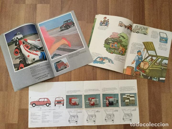Coches y Motocicletas: CITROEN CATALOGO DYANE 6 2CV 6, LNA 1986.LINA BERLINE, CHARLESTON - Foto 4 - 126528015