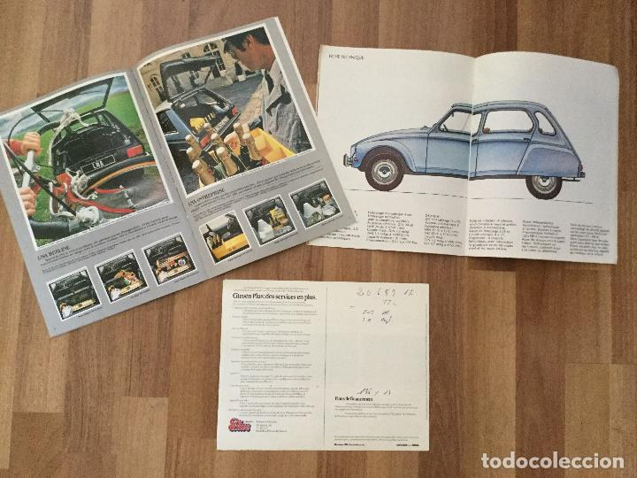 Coches y Motocicletas: CITROEN CATALOGO DYANE 6 2CV 6, LNA 1986.LINA BERLINE, CHARLESTON - Foto 7 - 126528015