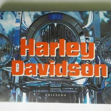 Coches y Motocicletas: HARLEY DAVIDSON EDITORIAL GRIBAUDO 190 PÁGINAS AÑO 2007 20X14CM. Lote 126640095