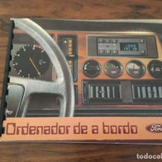 Voitures et Motocyclettes: CATALOGO ORDENADOR DE A BORDO FORD ESPAÑA. COCHE AUTO. RETRO. Lote 126936911
