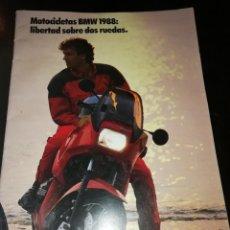 Coches y Motocicletas: CATALOGO MOTO BMW 1988 MOTOCICLISMO. Lote 127465598