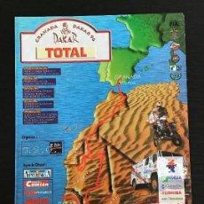 Coches y Motocicletas: GRANADA DAKAR TOTAL RAID RALLY - ANUNCIO RECORTE PUBLICIDAD DE REVISTA - NO FOTO POSTER FOLLETO. Lote 127884151