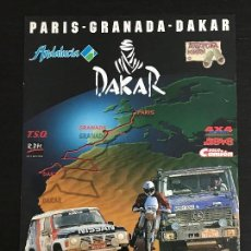 Coches y Motocicletas: PARIS GRANADA DAKAR RAID RALLY - ANUNCIO RECORTE PUBLICIDAD DE REVISTA - NO FOTO POSTER FOLLETO. Lote 127884215