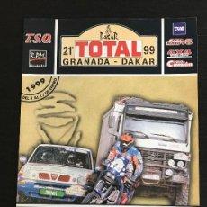 Coches y Motocicletas: GRANADA DAKAR RAID RALLY RALLYE - ANUNCIO RECORTE PUBLICIDAD DE REVISTA - NO FOTO POSTER FOLLETO. Lote 127884287