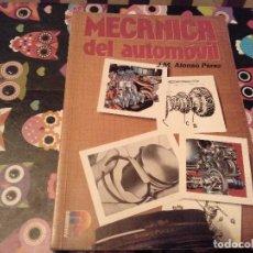 Voitures et Motocyclettes: MECANICA DEL AUTOMOVIL J.M. ALONSO PEREZ PARANINFO 1998. Lote 128051999