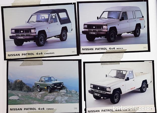 Coches y Motocicletas: Nissan Patrol 1991 – 6 transparencias 9 x 12 prensa. Pick-up, Canarias, Merca, Forest, Top-Line, BS. - Foto 3 - 128131211