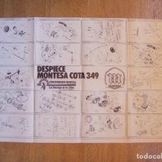 Coches y Motocicletas: MONTESA COTA 349 POSTER REVISTA MOTOCICLISMO AÑO 1979. Lote 128273375