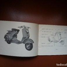Coches y Motocicletas: VESPA DOUGLAS , MANUAL ORIGINAL .. Lote 128397683