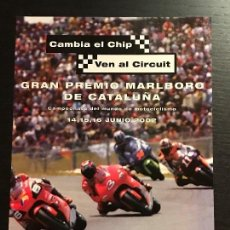 Coches y Motocicletas: GP CATALUNYA MOTO GRAN PREMIO MARLBORO - ANUNCIO RECORTE PUBLICIDAD DE REVISTA. Lote 128589639