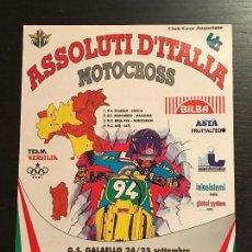 Coches y Motocicletas: MOTO CROSS MOTOCROSS INTERNACIONAL ITALIA - ANUNCIO RECORTE PUBLICIDAD DE REVISTA. Lote 128678203