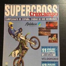 Coches y Motocicletas: SUPERCROSS CRUZCAMPO DOS HERMANAS MOTO CROSS - ANUNCIO RECORTE PUBLICIDAD DE REVISTA. Lote 128678227