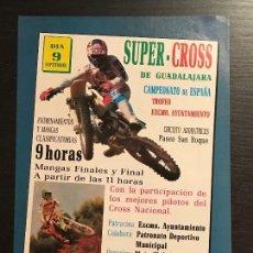 Coches y Motocicletas: SUPERCROSS DE GUADALAJARA MOTO SUPER CROSS - ANUNCIO RECORTE PUBLICIDAD DE REVISTA. Lote 128678251
