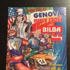 Coches y Motocicletas: SUPERCROSS GENOVA ITALIA MOTO SUPER CROSS - ANUNCIO RECORTE PUBLICIDAD DE REVISTA. Lote 128678291