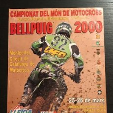 Coches y Motocicletas: MOTO CROSS MOTOCROSS BELLPUIG LLEIDA - ANUNCIO RECORTE PUBLICIDAD DE REVISTA. Lote 128678327