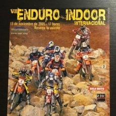 Coches y Motocicletas: VII ENDURO INDOOR BARCELONA INTERNACIONAL MOTO - ANUNCIO RECORTE PUBLICIDAD DE REVISTA. Lote 128678399