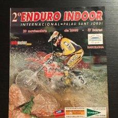 Coches y Motocicletas: II ENDURO INDOOR BARCELONA INTERNACIONAL MOTO - ANUNCIO RECORTE PUBLICIDAD DE REVISTA. Lote 128678411