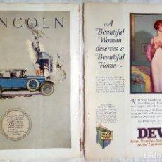 Coches y Motocicletas: DEVOE/ LINCOLN BERLINE BY JUDKINS. 1925. Lote 128687447