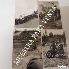 Coches y Motocicletas: LOTE 4 FOTOS ORIGINALES MONTESA BULTACO OSSA MOTOCROSS MOTO CLÁSICA CARRERAS ANTIGUA. Lote 128688267