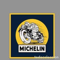 Coches y Motocicletas: AZULEJO 20X20 BALDOSA PUBLICIDAD DE TALLER MICHELIN. Lote 141289352