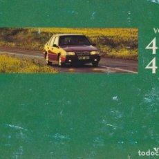 Coches y Motocicletas: MANUAL DEL USUARIO VOLVO 440/460 1996 ESPAÑOL. Lote 128870771