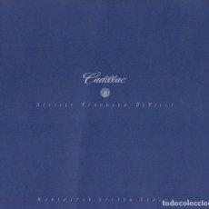 Coches y Motocicletas: CATÁLOGO ORIGINAL SISTEMA NORTHSTAR DE CADILLAC 1997. Lote 129210755