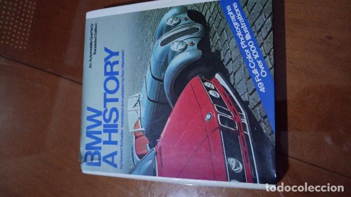 LIBRO BMW HISTORY (Coches y Motocicletas Antiguas y Clásicas - Catálogos, Publicidad y Libros de mecánica)