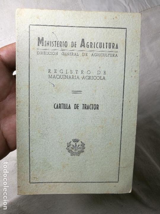 CARTILLA TRACTOR MASSEY HARRIS ---LERIDA 1957 (Coches y Motocicletas Antiguas y Clásicas - Catálogos, Publicidad y Libros de mecánica)