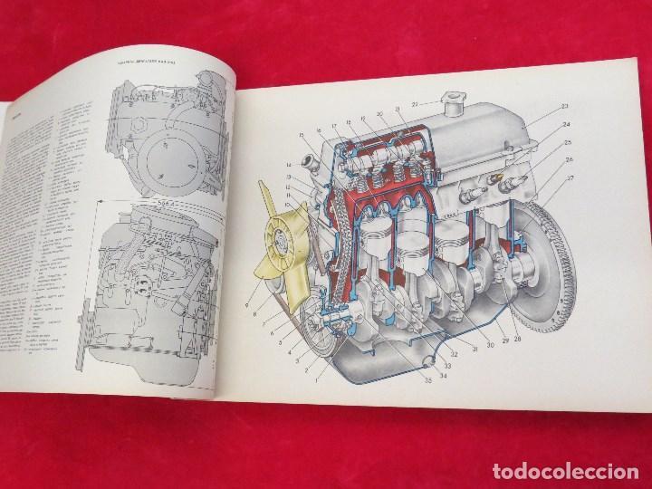 Coches y Motocicletas: LIBRO CONSTRUCCION Y MANTENIMIENTO COCHE RUSO VAZ - LADA ? SEAT 124 DEL ESTE - 1976 - Foto 7 - 129689387