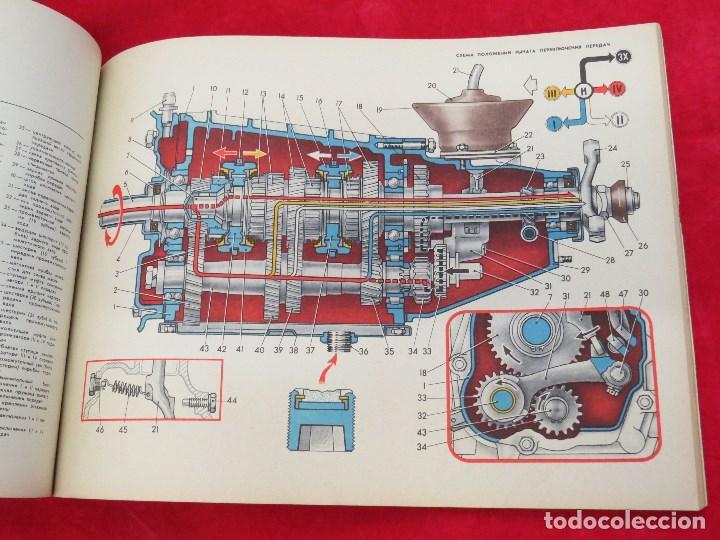 Coches y Motocicletas: LIBRO CONSTRUCCION Y MANTENIMIENTO COCHE RUSO VAZ - LADA ? SEAT 124 DEL ESTE - 1976 - Foto 15 - 129689387
