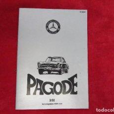 Coches y Motocicletas: REVISTA MERCEDES BENZ SL - CLUB PAGODE DEUTSCHLAND - PAGODA - ALEMAN - 2002. Lote 129691331