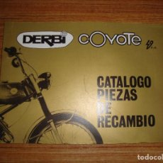 Coches y Motocicletas: (TC-124) CATALOGO PIEZAS DE RECAMBIO DERBI COYOTE 49 CC. Lote 130081987