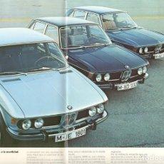 Coches y Motocicletas: BMW 2500 2800 3.0S 3.0SI, ESPECTACULAR CATÁLOGO EN ESPAÑOL, 20 PÁGINAS, 1983. Lote 130194467