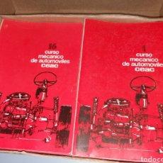 Coches y Motocicletas: CURSO MECÁNICO DE AUTOMÓVILES CEAC. Lote 130257456