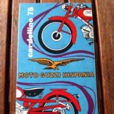 Coches y Motocicletas: FOLLETO MOTO GUZZI HISPANIA CARDELLINO 75. ORIGINAL.. Lote 130310498