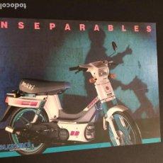 Coches y Motocicletas: FOLLETO CATALOGO PUBLICIDAD ORIGINAL SUZUKI MAXI. Lote 130428474