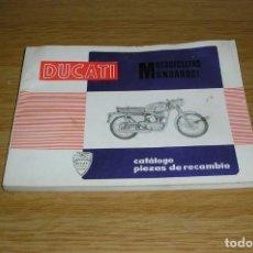 Coches y Motocicletas: CATÁLOGO PIEZAS DE RECAMBIO DUCATI MOTICICLETA MONOARBOL.. Lote 130609606