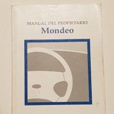Coches y Motocicletas: MANUAL USUARIO FORD MONDEO. Lote 130616955