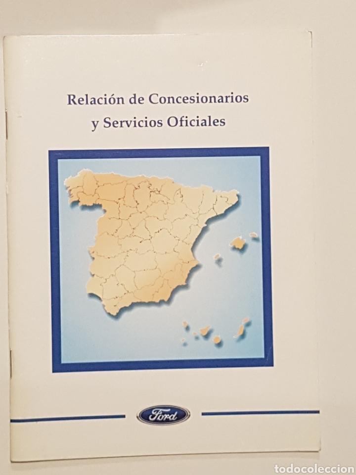 LIBRO FORD - RED DE CONCESIONARIOS Y SERVICIOS OFICIALES 1999 (Coches y Motocicletas Antiguas y Clásicas - Catálogos, Publicidad y Libros de mecánica)