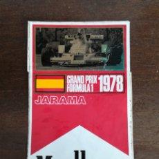 Coches y Motocicletas - Pegatina Grand Prix Fórmula 1 Jarama 1978 publicidad Marlboro World Championship Team - circuito - 130913176