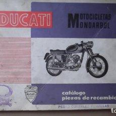 Coches y Motocicletas: CATALOGO ORIGINAL PIEZAS RECAMBIO MOTOTRANS DUCATI 125 TURISMO SPRINT 175 TURISMO 200 ELITE. Lote 131046996